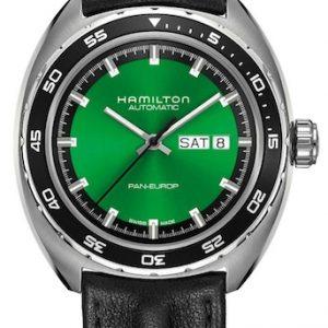 Hamilton herenhorloge model American Classic Pan Europ H35415761
