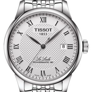 TISSOT LE LOCLE POWERMATIC 80 Heren T0064071103300