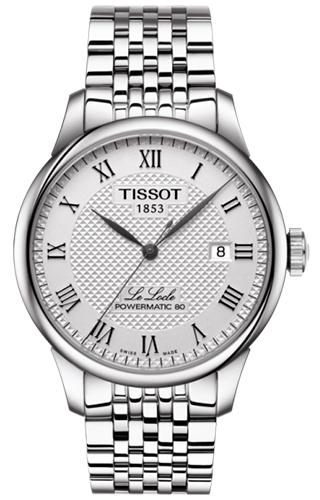 TISSOT herenhorloge model LE LOCLE POWERMATIC 80 T0064071103300