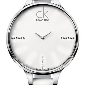 Calvin Klein dameshorloge model Glow Diamond K2B23137