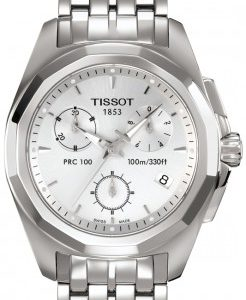 Tissot dameshorloge PRC100 Chronograph Watch T0082171103100