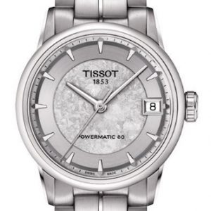 Tissot dameshorloge Luxury Powermatic 80 Jungfraubahn T0862071103110